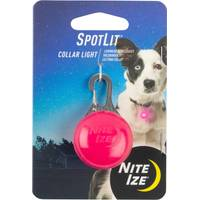 Nite Ize SpotLit Pink & White LED Carabiner Light from Blain's Farm and Fleet
