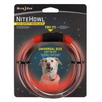 Nite Ize Nite Howl Red LED Safety Necklace from Blain's Farm and Fleet