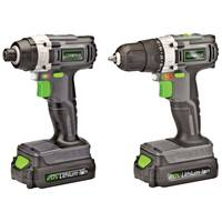 Genesis 20V Lithium-Ion Drill / Impact Driver Combo Kit from Blain's Farm and Fleet