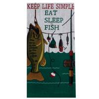 Kay Dee Designs Keep Life Simple Terry Towel from Blain's Farm and Fleet