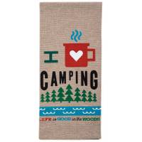 Kay Dee Designs I Love Camping Tea Towel from Blain's Farm and Fleet