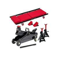 Larin Floor Jack, Jack Stand & Creeper 6-Piece Kit from Blain's Farm and Fleet