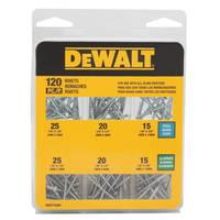DEWALT Rivet Assortment Pack - 120 Piece from Blain's Farm and Fleet