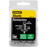 Stanley Aluminum Rivets-100 Pack from Blain's Farm and Fleet