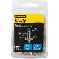 Stanley Steel Rivets-100 Pack from Blain's Farm and Fleet
