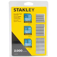 Stanley Heavy Duty Staple 2,000 Multi-Pack from Blain's Farm and Fleet