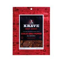 Krave Garlic Chili Pepper Beef Jerky from Blain's Farm and Fleet