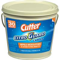 Cutter CitroGuard Insect Repellant Bucket Candle from Blain's Farm and Fleet