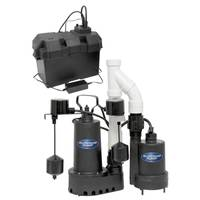 Superior Pump 1/2 HP Primary Pump Kit with 12V Backup Pump from Blain's Farm and Fleet