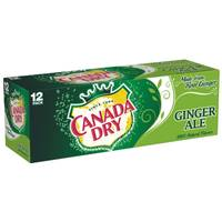 Canada Dry Ginger Ale - 12 Pack from Blain's Farm and Fleet