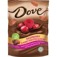 Dove Chocolate Raspberry & Honey Roasted Almond Chocolates from Blain's Farm and Fleet