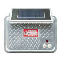 Zareba Red Snap'r Steel Solar Fence Charger from Blain's Farm and Fleet