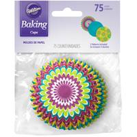 Wilton 75ct Standard Baking Cups, Bright Starburst from Blain's Farm and Fleet