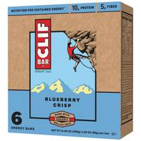 Clif Bar Blueberry Crisp Energy Bars - 6 Count from Blain's Farm and Fleet