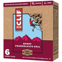 Clif Bar Berry Pomegranate Chia Energy Bars - 6 Count from Blain's Farm and Fleet