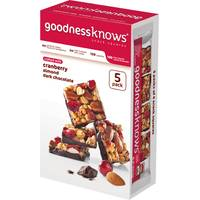 Goodness Knows Cranberry Bars from Blain's Farm and Fleet