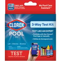 Clorox Pool & Spa 3-Way Test Kit from Blain's Farm and Fleet