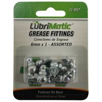 Plews 8 Piece Metric Grease Fitting Assortment from Blain's Farm and Fleet