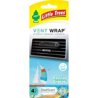 Little Trees Vent Wrap Bayside Breeze Air Freshener from Blain's Farm and Fleet