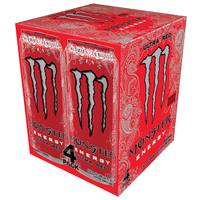 Monster Ultra Red Energy Drink - 4 Pack from Blain's Farm and Fleet