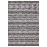 Mohawk Smokey Ash Seton Striped Tufted Rug from Blain's Farm and Fleet