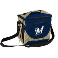 Logo Chairs Milwaukee Brewers 24 Can Cooler from Blain's Farm and Fleet