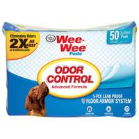 Four Paws Wee-Wee Odor Control Pads from Blain's Farm and Fleet