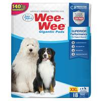 Four Paws Wee-Wee Puppy Housebreaking Pads from Blain's Farm and Fleet