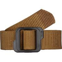 5.11 Tactical Men's Black & Coyote Double Duty TDU Belt from Blain's Farm and Fleet