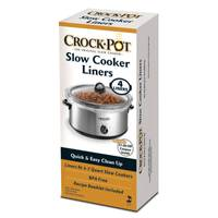 Crock Pot Slow Cooker Liner - 4 Pack from Blain's Farm and Fleet