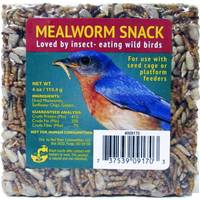 Valley Splendor 4 Oz. Mealworm Snack Mini Cake from Blain's Farm and Fleet