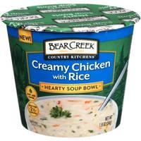 Bear Creek Creamy Chicken & Rice Soup Bowl from Blain's Farm and Fleet