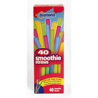 Diamond Neon Smoothie Straws from Blain's Farm and Fleet