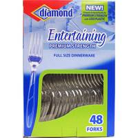 Diamond Entertaining Premium Strength Forks from Blain's Farm and Fleet