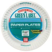 Green Label Paper Plates from Blain's Farm and Fleet