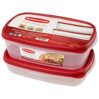 Rubbermaid 5.5 Cup and 8.5 Cup Easy Find Lids Containers Value Pack from Blain's Farm and Fleet