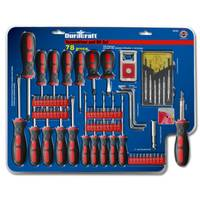Duracraft 78-Piece Screwdriver & Bit Set from Blain's Farm and Fleet