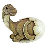 Design Toscano Baby Brachiosaurus Dino Egg Statue from Blain's Farm and Fleet