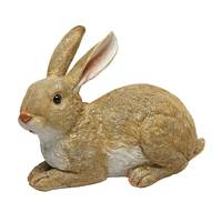 Design Toscano Bashful Bunny Lying Down Garden Statue from Blain's Farm and Fleet