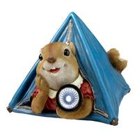 Design Toscano Backyard Camper Squirrel Solar Statue from Blain's Farm and Fleet