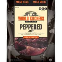 World Kitchens Peppered Sliced & Shaped Beef Jerky from Blain's Farm and Fleet