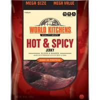 World Kitchens Hot & Spicy Sliced & Shaped Beef Jerky from Blain's Farm and Fleet