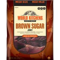 World Kitchens Brown Sugar Sliced & Shaped Beef Jerky from Blain's Farm and Fleet