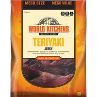 World Kitchens Teriyaki Sliced & Shaped Beef Jerky from Blain's Farm and Fleet
