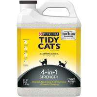 Tidy Cats 4-in-1 Strength Clumping Litter for Multiple Cats from Blain's Farm and Fleet