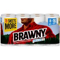 Brawny Pick-A-Size Perforated Roll Towel from Blain's Farm and Fleet