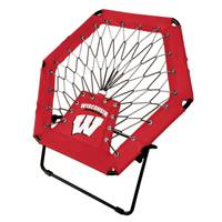 Imperial International Wisconsin Badgers Red Bungee Chair from Blain's Farm and Fleet