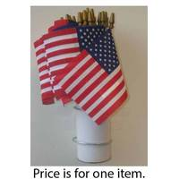 Seasonal Designs Poly/Cotton American Flag from Blain's Farm and Fleet