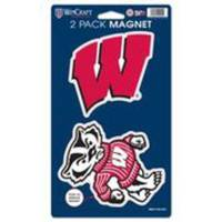 WinCraft Wisconsin Badgers Magnets from Blain's Farm and Fleet