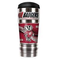 All Star Sports Wisconsin Badgers Travel Tumbler from Blain's Farm and Fleet